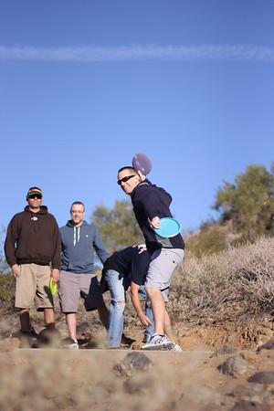 Frisbee Golf, Phoenix, AZ (20121122)