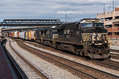 134 Roanoke, VA to Satellite Yard, Charlotte, NC