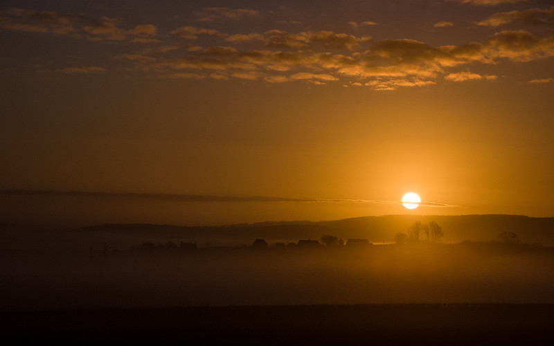 Dorset sunrise