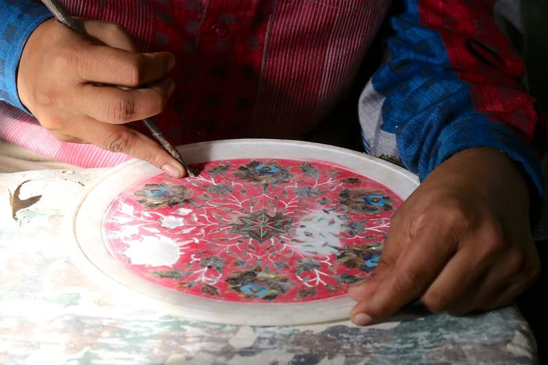 Creating inlay