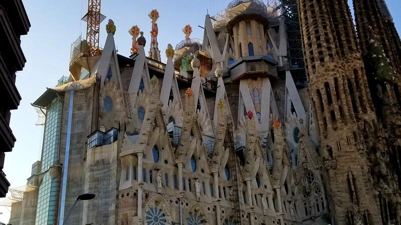 Barcelona Nov 20 17 La Sagrada