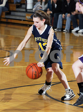 Northern Potter Girls Basketball vs. Coudersport (2011 Coudersport Holiday Tournament)