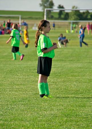 2014 Riley Playing Soccer