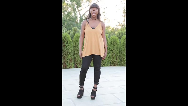 Alyssa Black Pants Revised