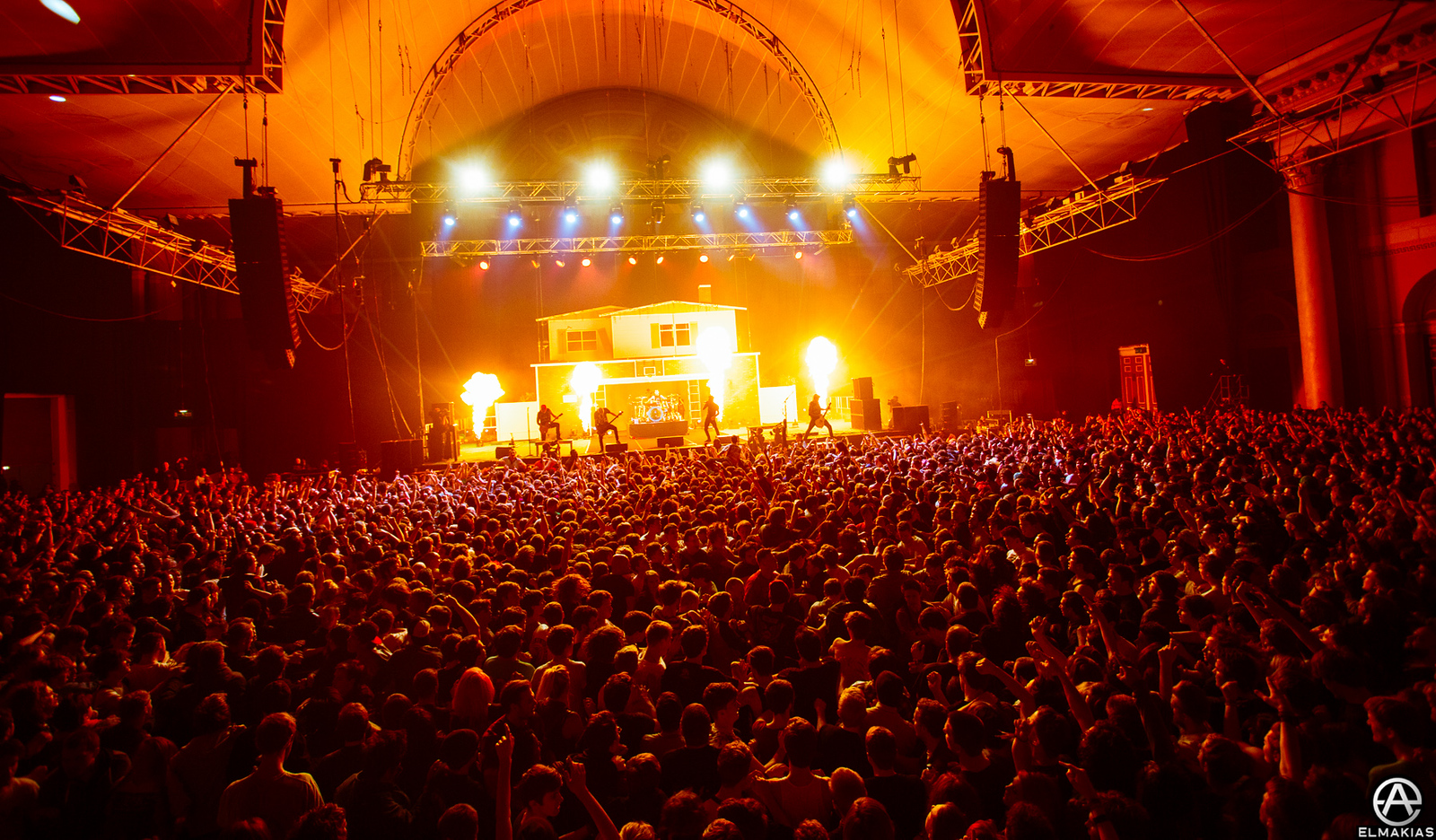 A Day To Remember live at Alexandra Palace by Adam Elmakias