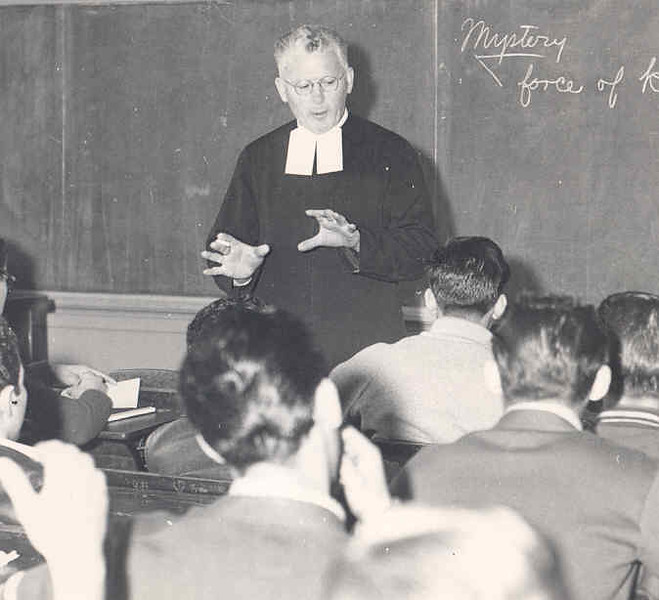 Br. Ligouri Edward's religion class 1954.jpg