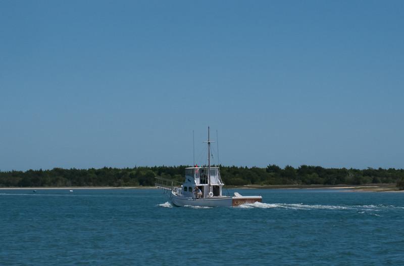 Swordfish fishing boat