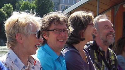 Doris, Marc, Tiziana und Bernhard