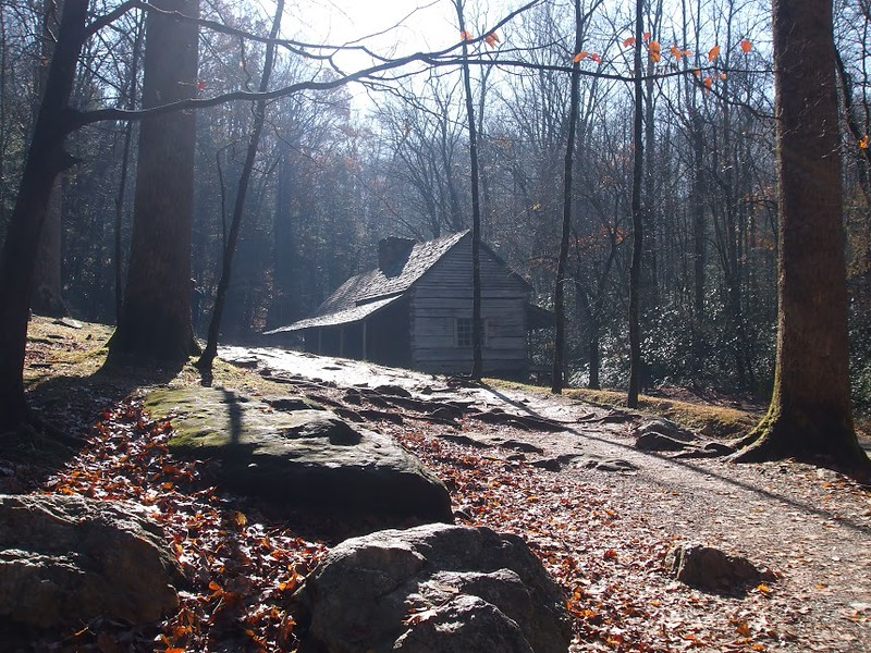 Mountaineer Cabin in Great Smoky Mountain National Park