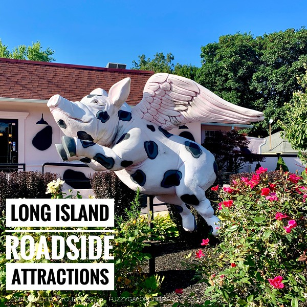 Flying Pig  roadside attraction long island
