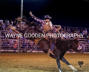 Chance Barrass Saddle Bronc