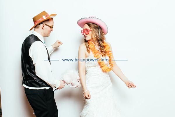 Ashley & Jeremy, the photobooth