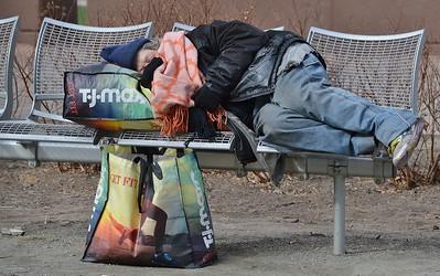 Homeless In Denver - 1/31/17