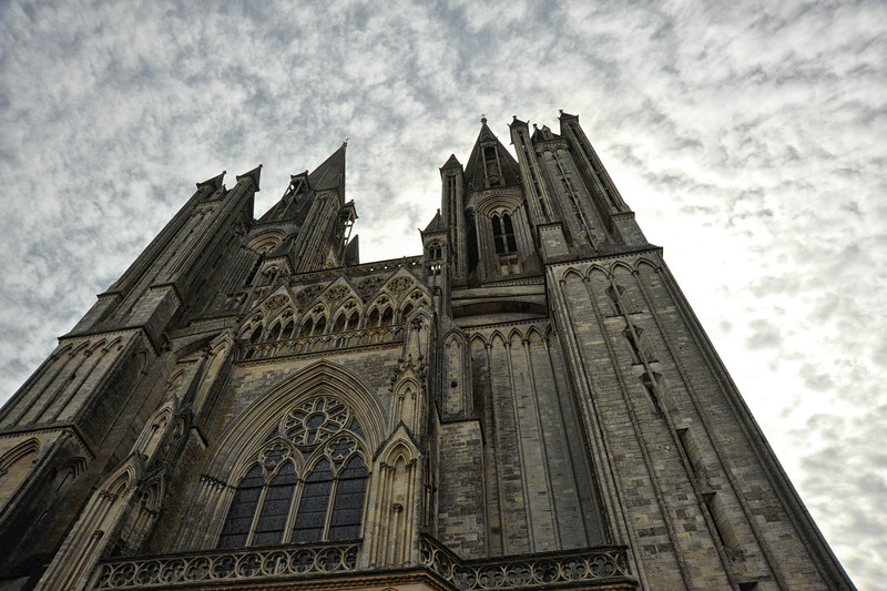 Coutances Cathedral, Normandy.