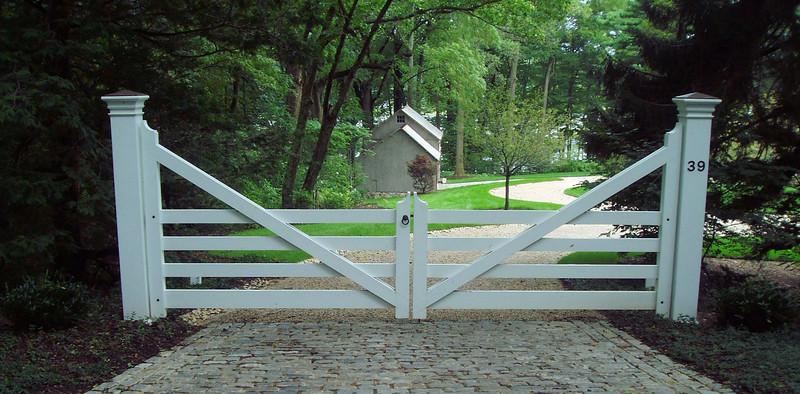 286 - 173170 - Oldfield NY - Custom Morgan Gate