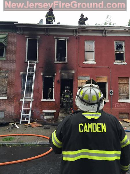 7-3-2016(Camden County)  Camden City 700 blk Pine Street-Dwelling