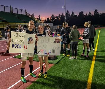 Bonus Extra: iPhone Pics at Girls Varsity Soccer v Cascade Christian 09/25/2018