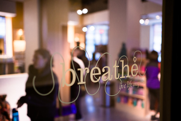 Breathe Yoga College Town Grand Opening