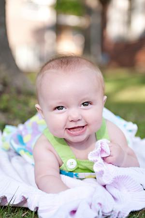 Audrey 5 Months