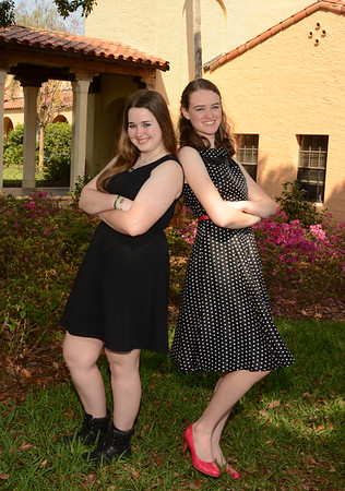 Cheyenne & Rebecca... Fun Friendship Portraits