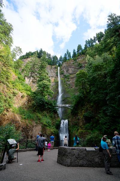2016-08 Multnomah Falls