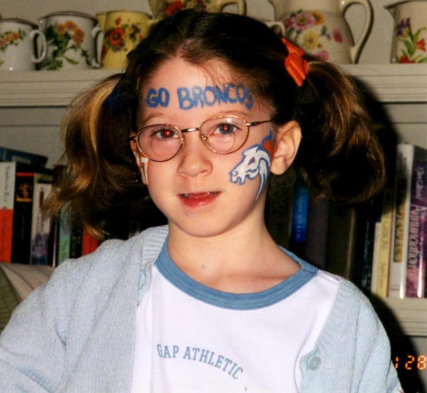 . Emma is a Fan! Photo by Tammy Hertz
