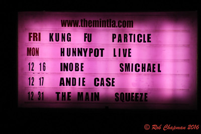 Particle & Kung Fu at The Mint in LA CA 12-9-2016