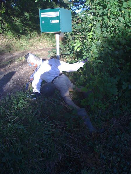 An unfortunate rider