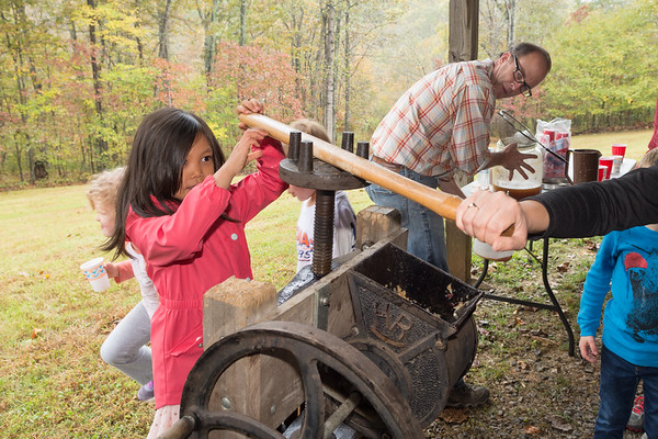 Old Fashioned Apple Pressing