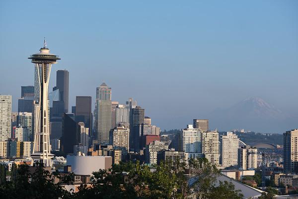 Seattle Skyline 13 AUG 2020