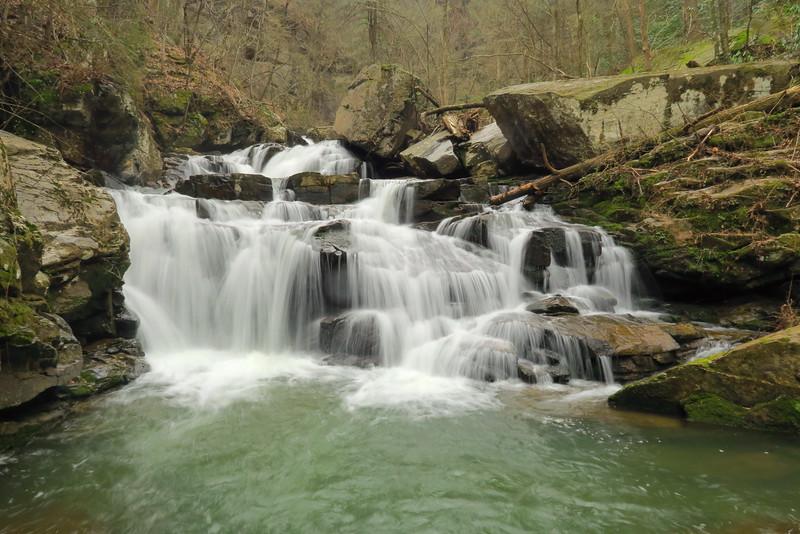 Unnamed falls on Cove Creek