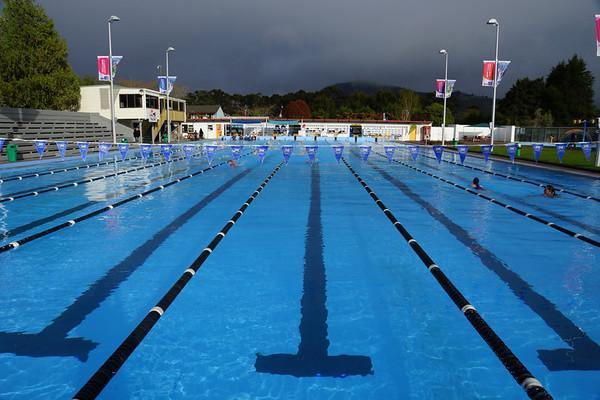 Trainingslager Rotorua (NZL)