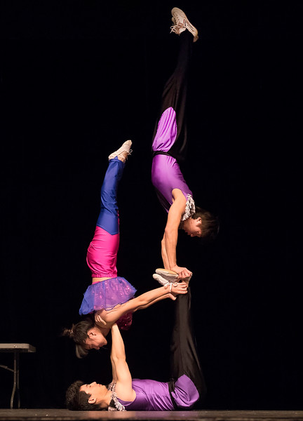 CHINESE NEW YEAR ASSEMBLY AND ACROBATS