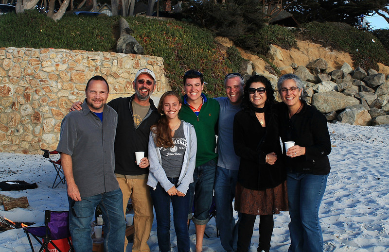 Shabbat Dinner - Carmel Beach - Longest Day of the Year.  June 21, 2013.