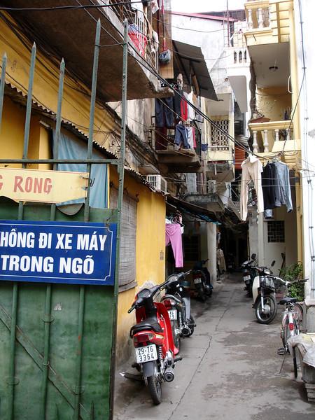 alley view, Hanoi