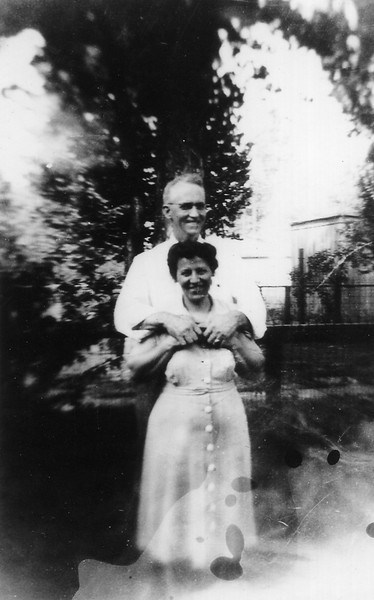 Grandpa Jim Nolan and Grandma Bee