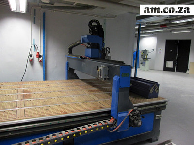 AM.CO.ZA CNC Router At University Of Johannesburg