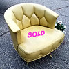 Mid Century Swivel Chair