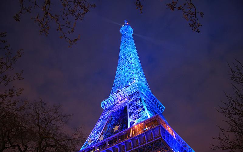 Blue: Le Tour Eiffel