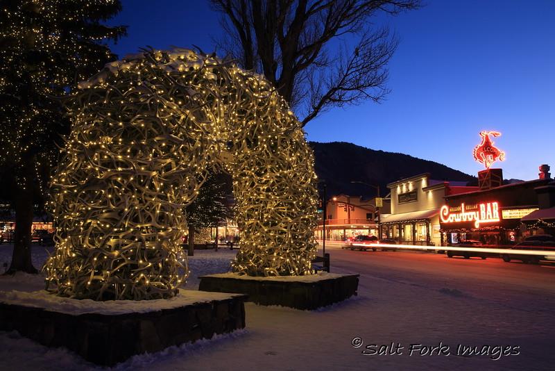 Town Square - Jackson, Wyoming