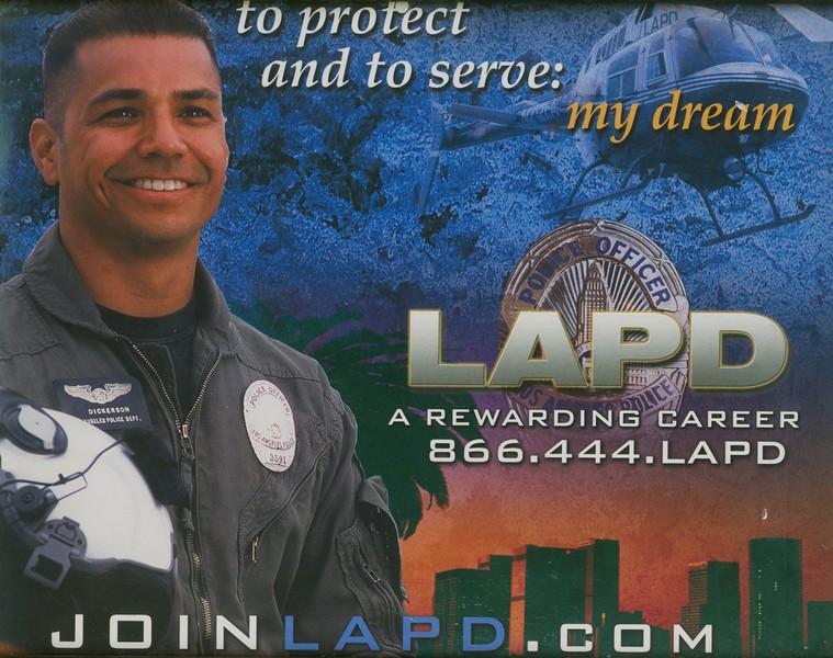 LAPD Advertisement