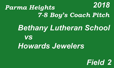 180605 Parma Heights Boy's 7-8 Coach Pitch Field 2