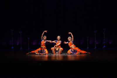 Aarya, Meryl and Samiksha's Arangetram