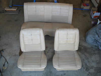 New upholstery interior