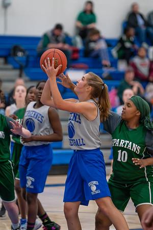 MS Girls 8th Grade Basketball 2019-20
