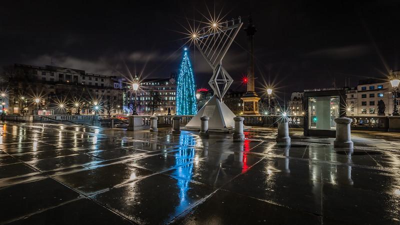 Hanukkah In Trafalgar Square