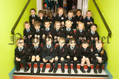New Primary 1 Class at St Malachy's PS Cranagat. Pictured are Miss Cranney's Class. R1539013