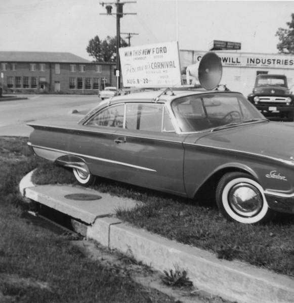 1960 Cars given away at Carnival