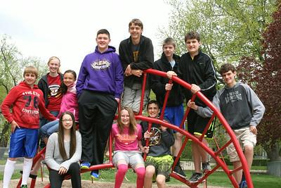 8th Grade Class pics 2014