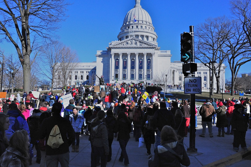 2011 Feb WI Labor Protests